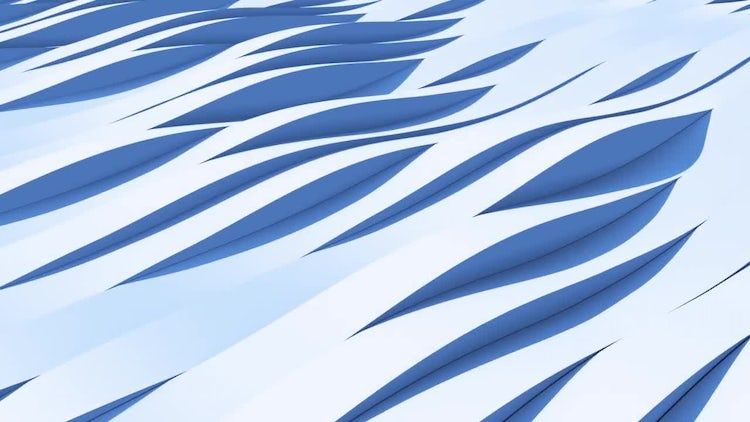 3D Waves Background Loop: Stock Motion Graphics