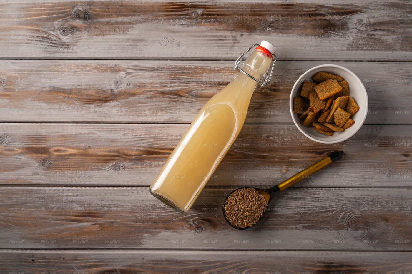 Homemade Traditional Light Beer: Stock Photos