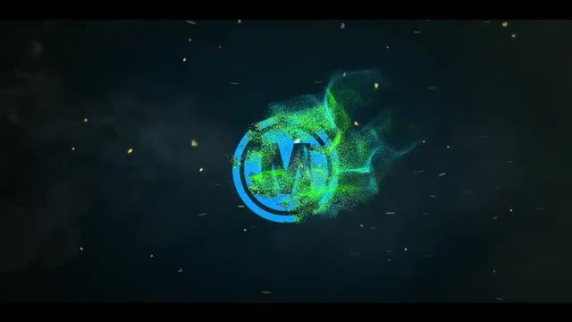 Logo Particle Intro: After Effects Templates