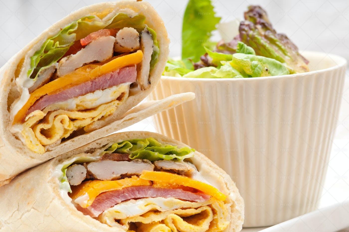 Tasty Burrito: Stock Photos