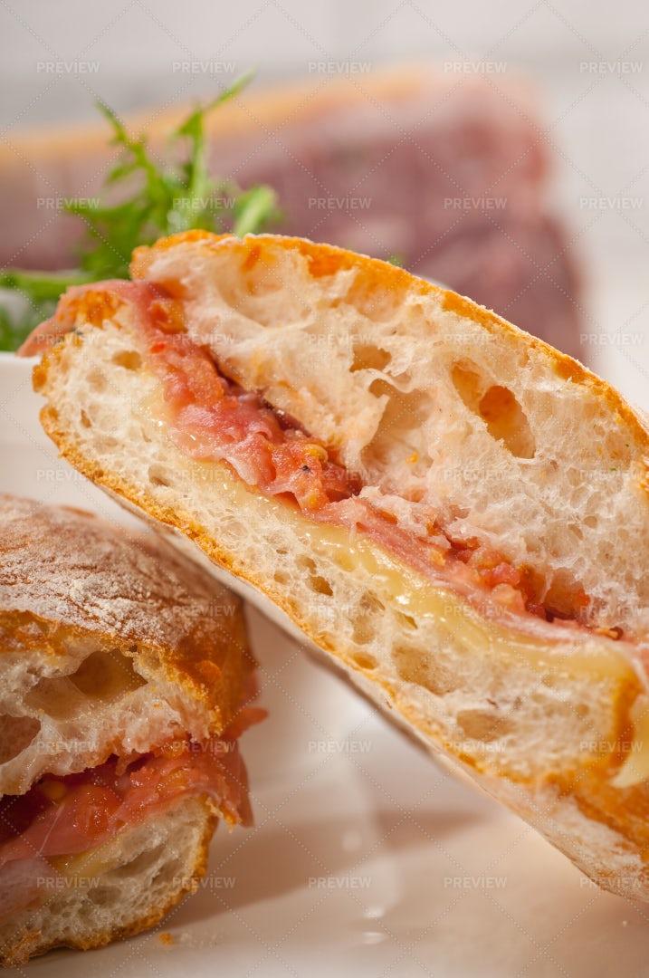 Panini Sandwich: Stock Photos