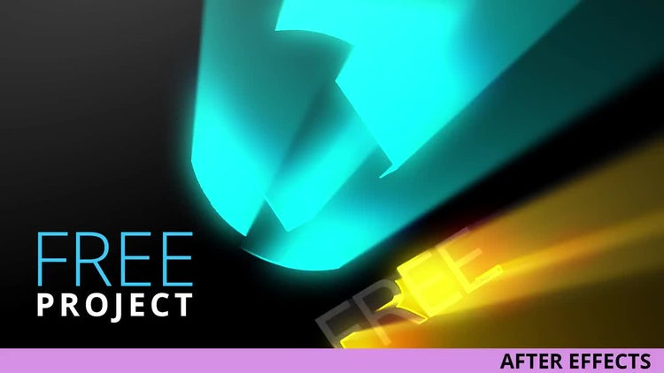 Light Rays Logo Reveal: After Effects Templates
