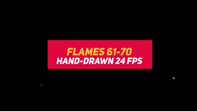 Liquid Elements 2 Flames 61-70: Stock Motion Graphics