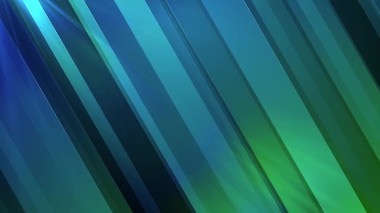 Blue Diagonal Strips: Motion Graphics