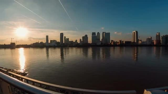 The Financial District In London, England, UK: Stock Video