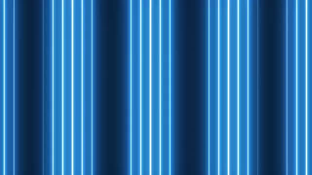 Blue Vertical Rows VJ Background: Stock Motion Graphics