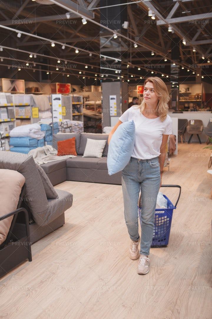 Shopping For Home Goods: Stock Photos