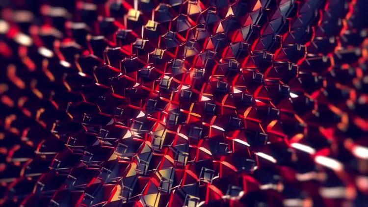 Iridescent Techno Motion: Stock Motion Graphics