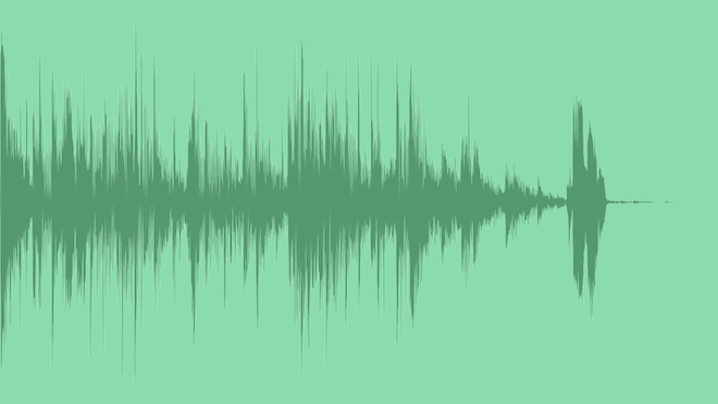 Fresh Glitchy Modern Logo: Royalty Free Music