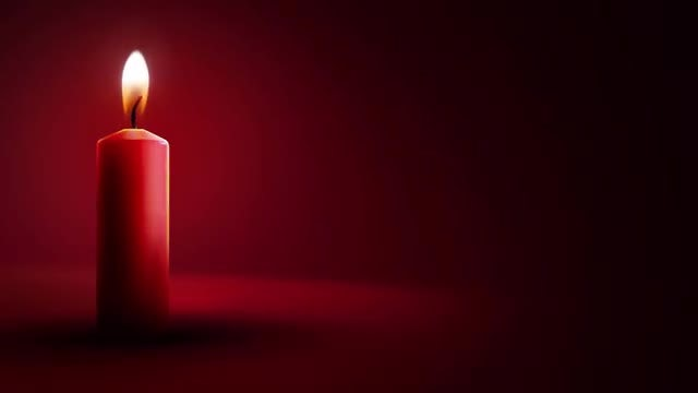 Candle Light Background: Stock Motion Graphics