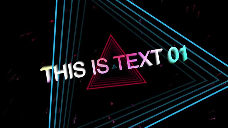 Type Noise: After Effects Templates