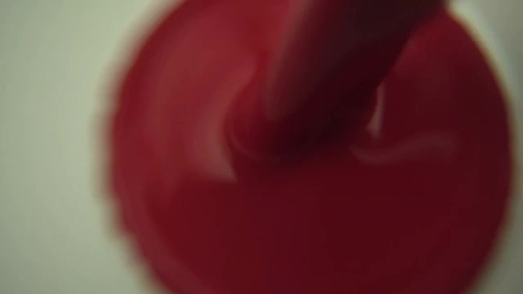 Mixing Red And White Paints: Stock Video