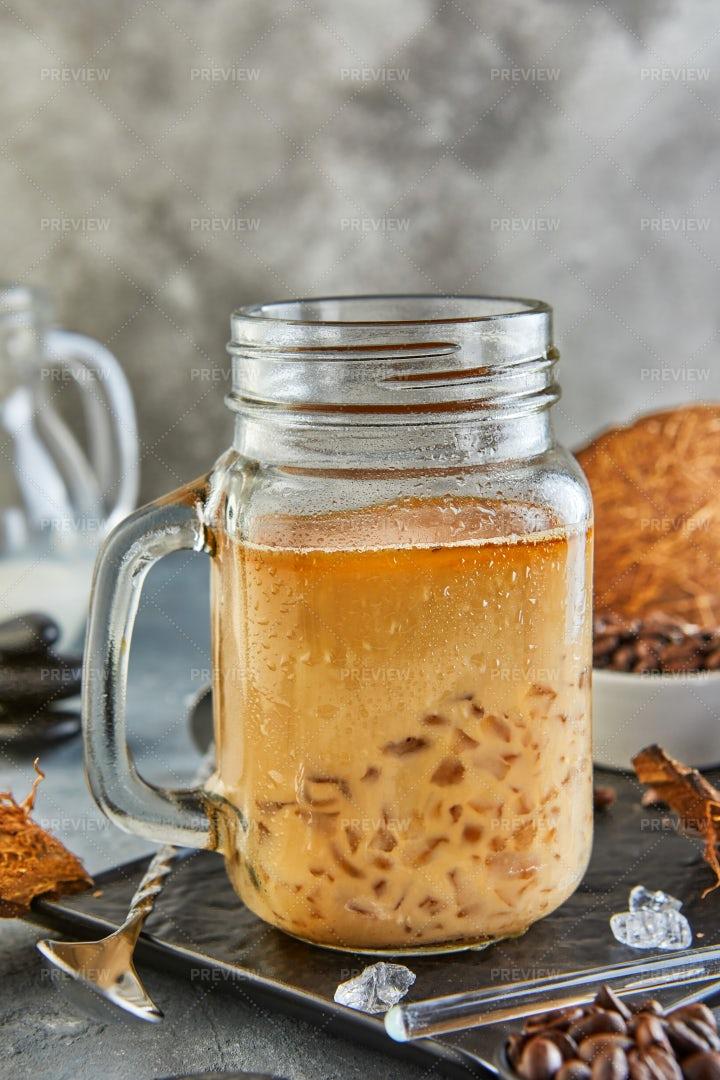 Thai Iced Coffee: Stock Photos