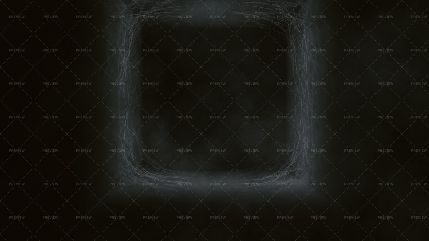 Tunnel With Spider Web: Stock Photos