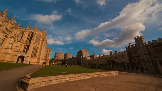 Windsor Castle: Stock Video