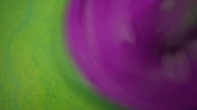 Blending Colored Liquid Paints: Stock Video