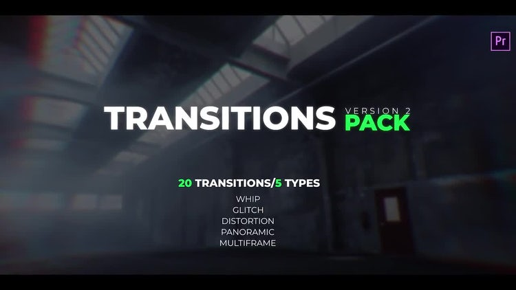 Transitions Pack V.2: Premiere Pro Templates