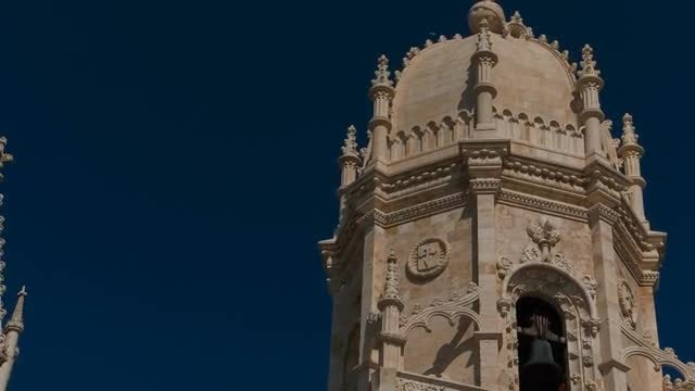 Hieronymites Monastery, Lisbon, Portugal: Stock Video