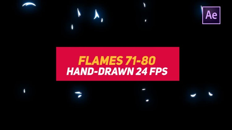 Liquid Elements 2 Flames 71-80: After Effects Templates