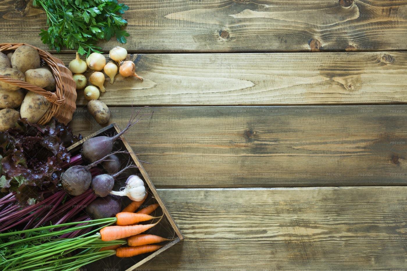 Fresh Vegetables: Stock Photos