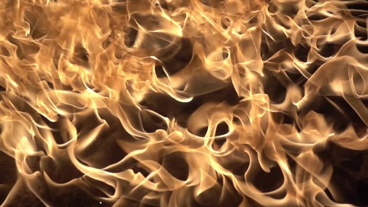 Fire Surface Compositing Element: Stock Video