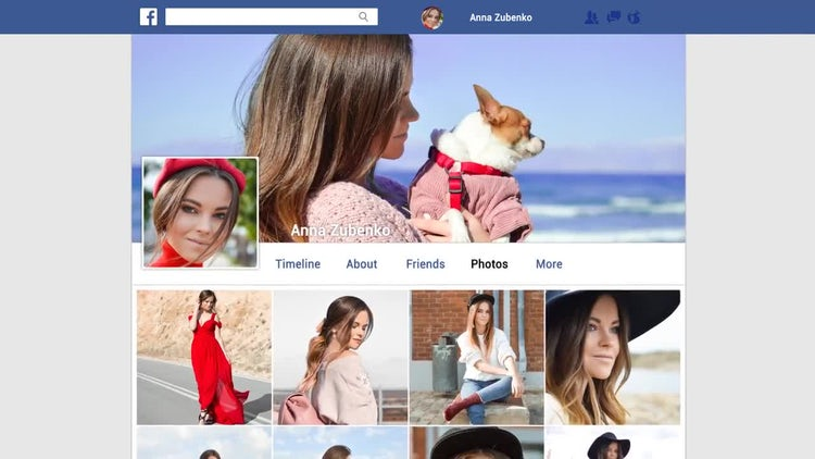 My Facebook: After Effects Templates