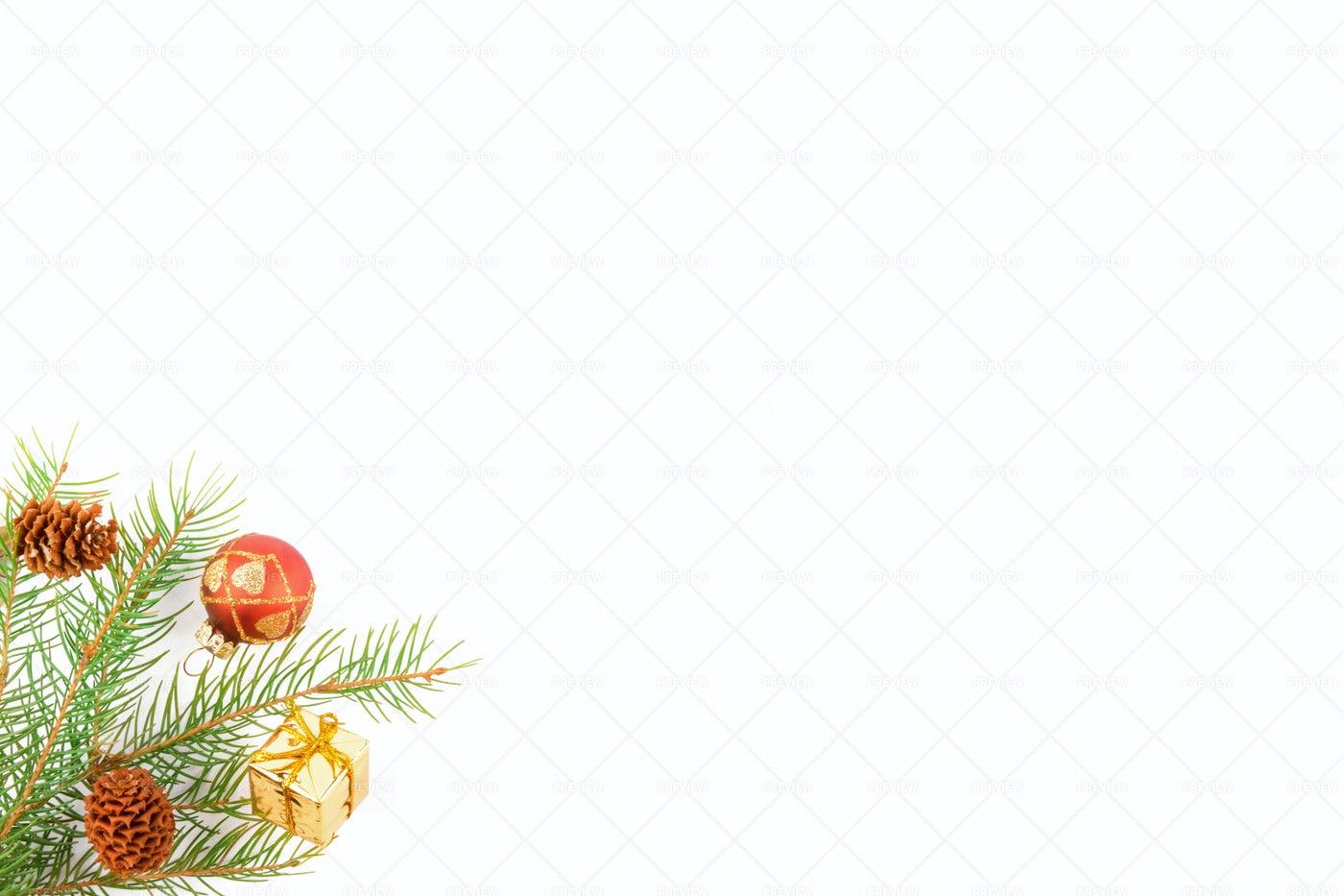 Christmas Fir Background: Stock Photos