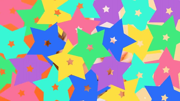 Colorful Children's Transitions: Stock Motion Graphics