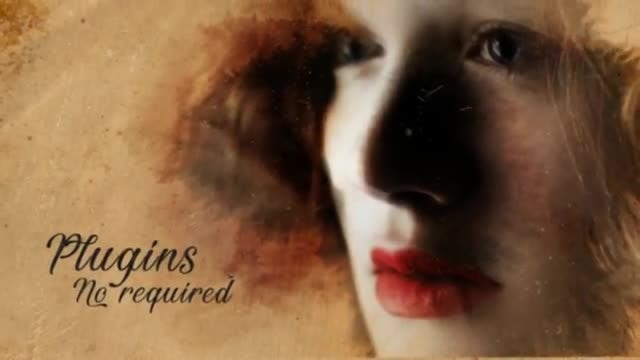 Ink Reveal Slideshow: After Effects Templates