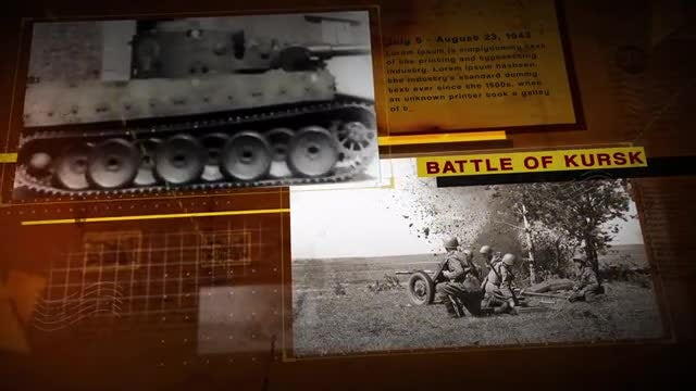 The History Slideshow: After Effects Templates