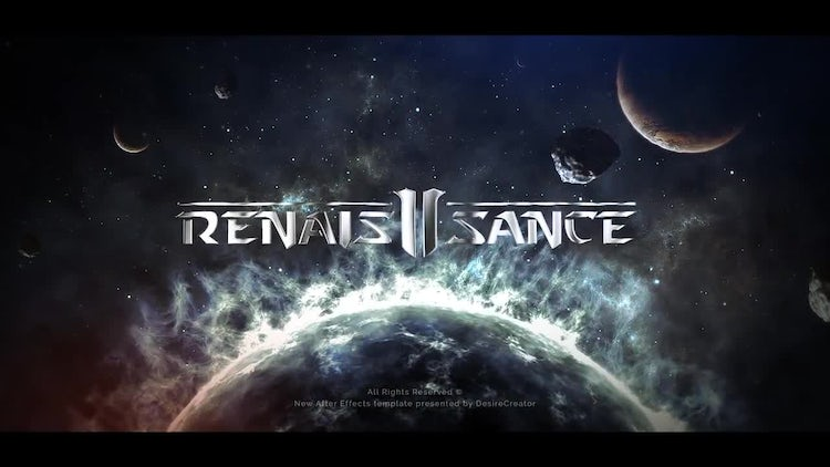 Space Intro | Trailer Titles: After Effects Templates