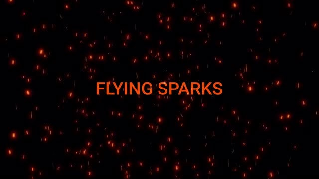 Flying Sparks Pack: Stock Motion Graphics