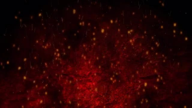 Cinematic Sparks Background: Stock Motion Graphics