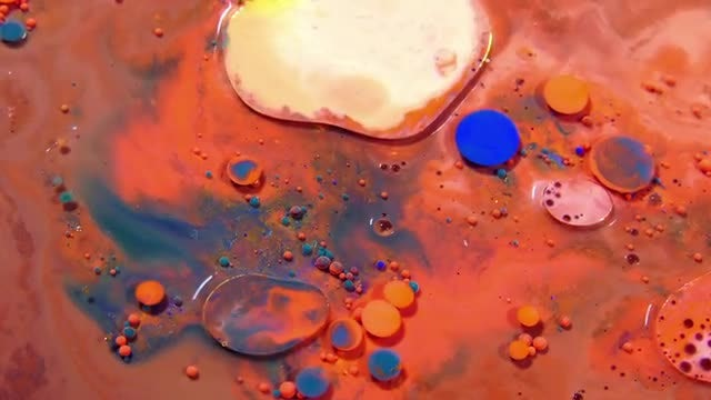 Color Formation And Bubbles Pack: Stock Video