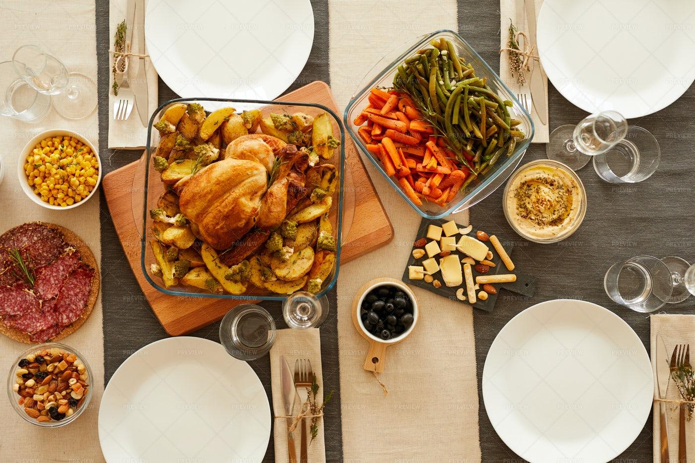 Roast Turkey For Thanksgiving: Stock Photos