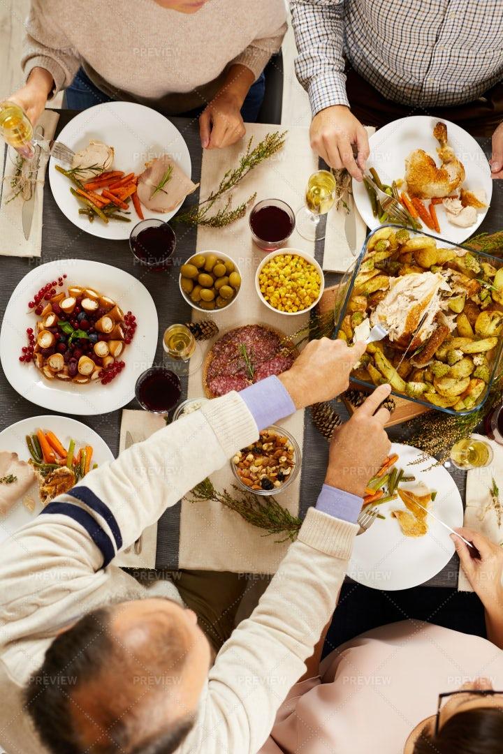 Family Celebrating Holiday: Stock Photos