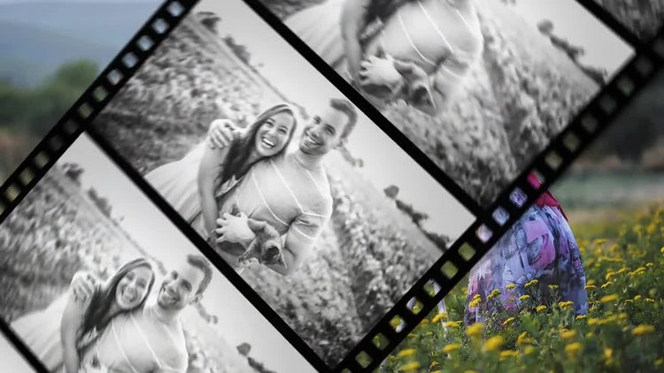 Clean Film Transitions: After Effects Templates