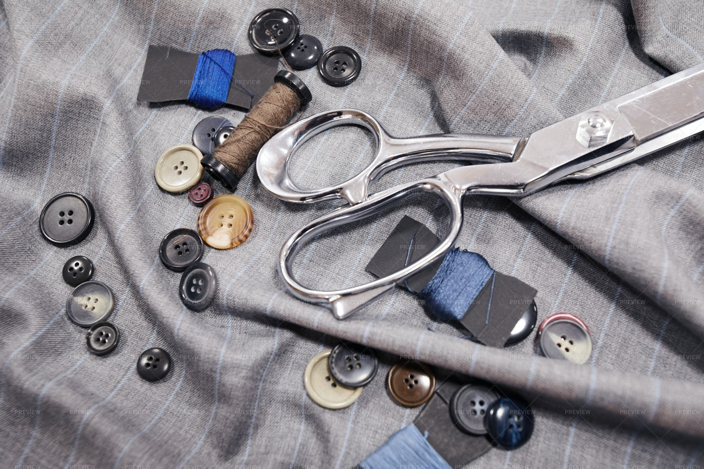 Items For Sewing: Stock Photos