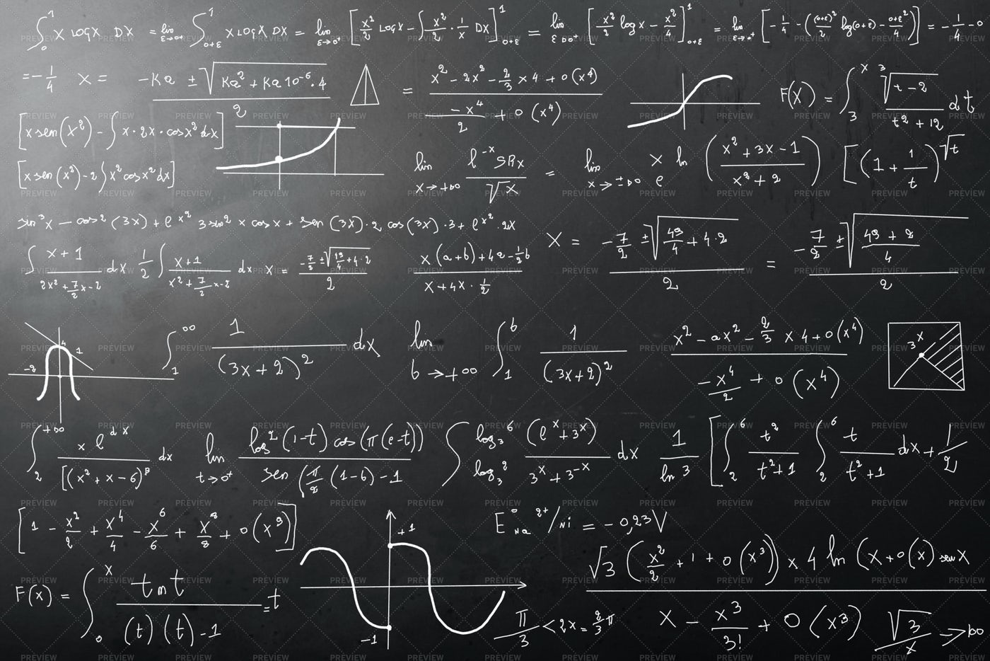 Mathematical Calculations: Stock Photos