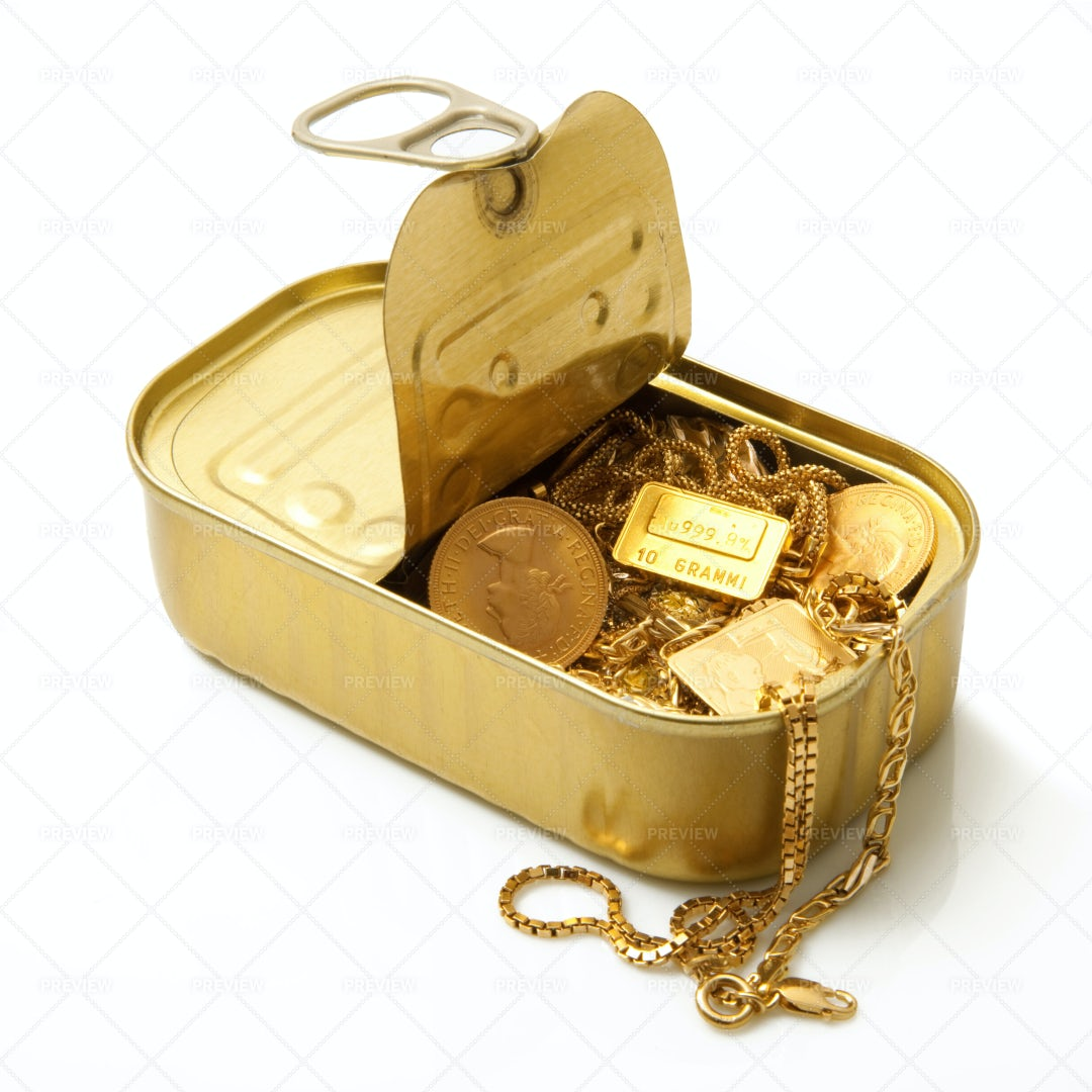 Gold Objects: Stock Photos