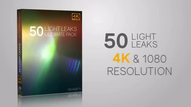 Light Leak Visual Effects Package: Stock Video