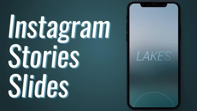 Instagram Stories Slides: Premiere Pro Templates