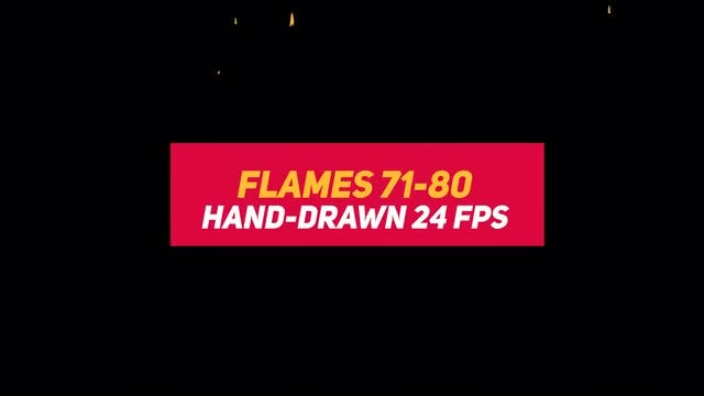 Liquid Elements 2 Flames 71-80: Stock Motion Graphics
