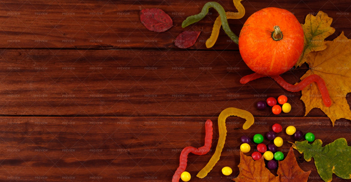 Traditional Halloween Sweets.: Stock Photos