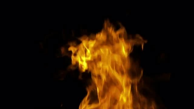 Blast Of Fire: Stock Video
