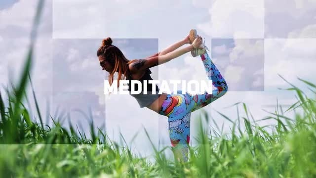 Yoga Slideshow: Premiere Pro Templates
