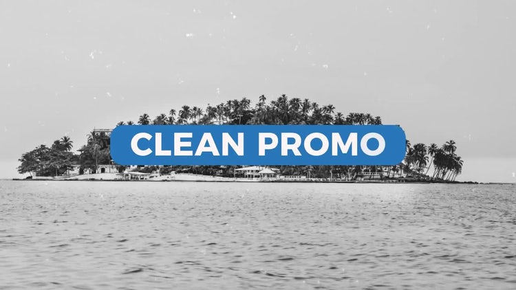 Clean Promo : After Effects Templates