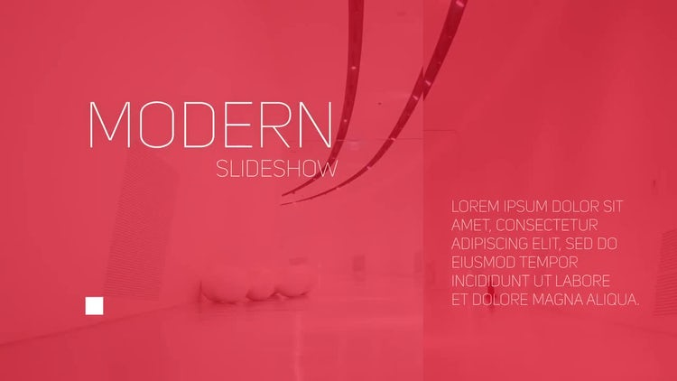 Simple Modern Opener: After Effects Templates