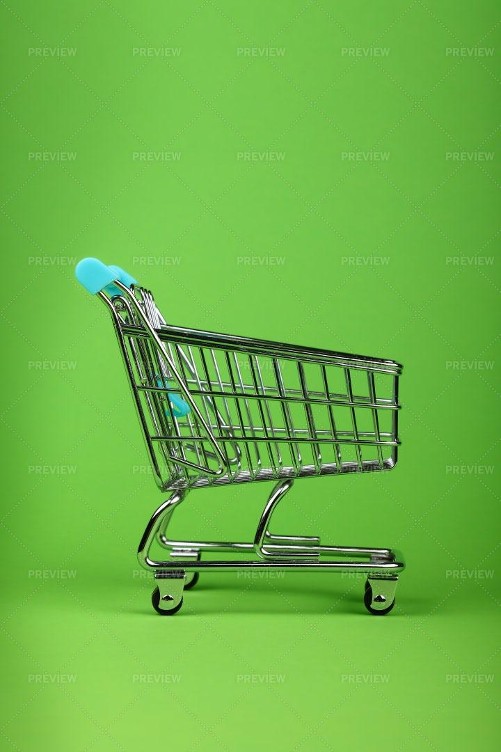 Retail Shopping Cart: Stock Photos