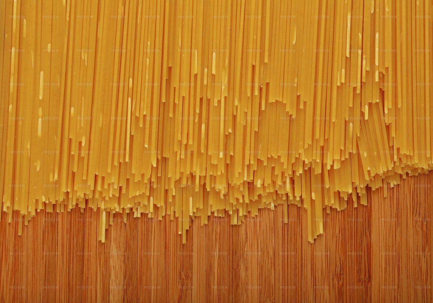Background Of Spaghetti Pasta: Stock Photos